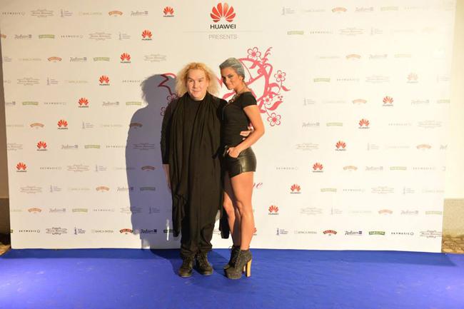 furne one i milica pavlovic Amato Fashion Show je doneo glamur i visoku modu u Beograd