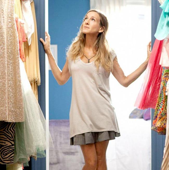 garderober1 Lekcije o modi od Keri Bredšo