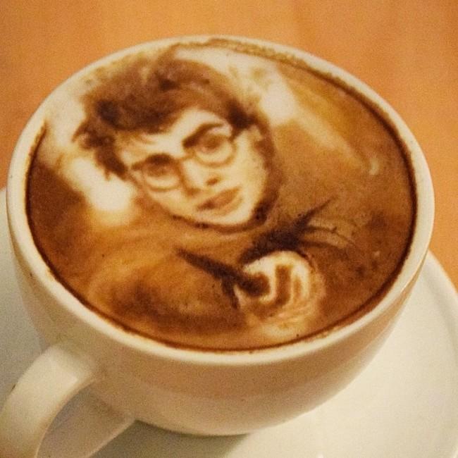 kafa 15 Istorija dekorisanih kafa