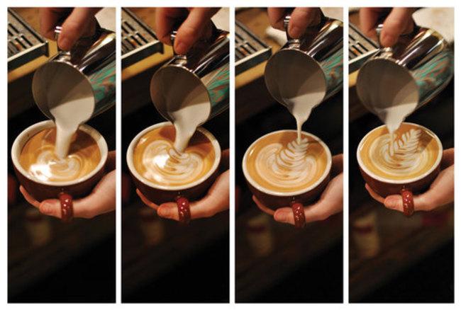 kafa 4 Istorija dekorisanih kafa