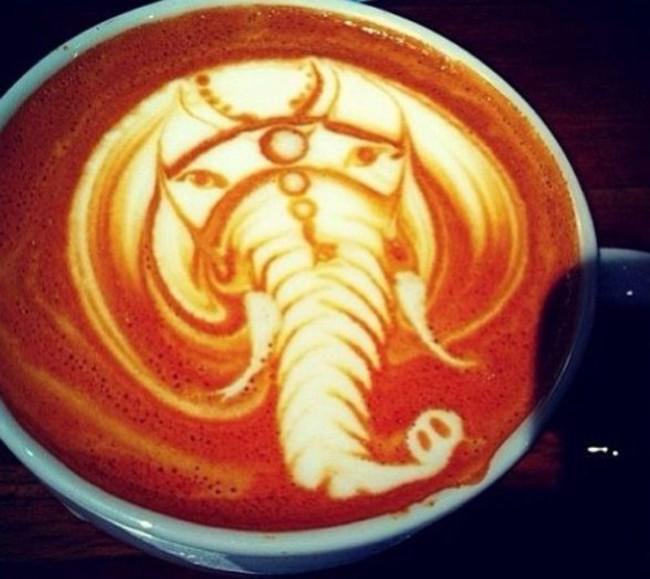 kafa 6 Istorija dekorisanih kafa