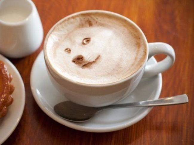 kafa 8 Istorija dekorisanih kafa