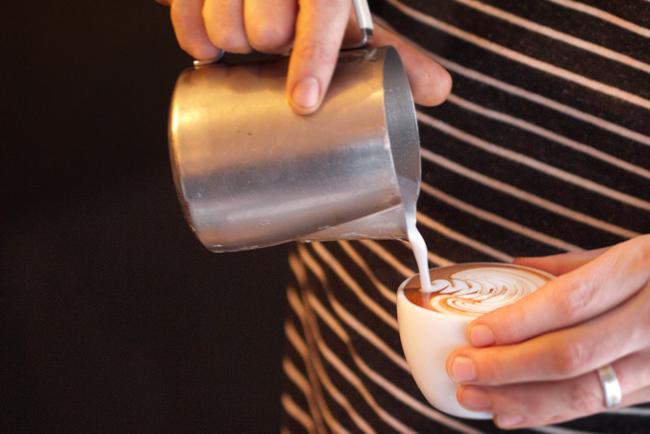kafa Istorija dekorisanih kafa