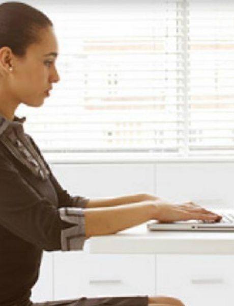 Kako da budete aktivni i dok sedite?