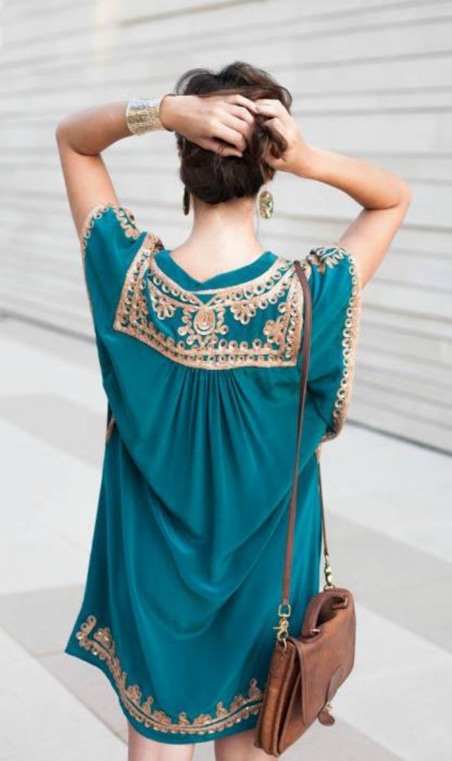 kako da obojite vasu jesenju odevnu kombinaciju haljina sa detaljima Kako da obojite vašu jesenju odevnu kombinaciju