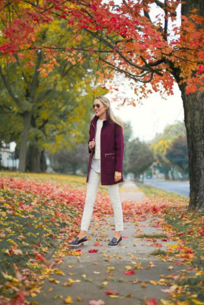 kako da obojite vasu jesenju odevnu kombinaciju kaput u boji Kako da obojite vašu jesenju odevnu kombinaciju