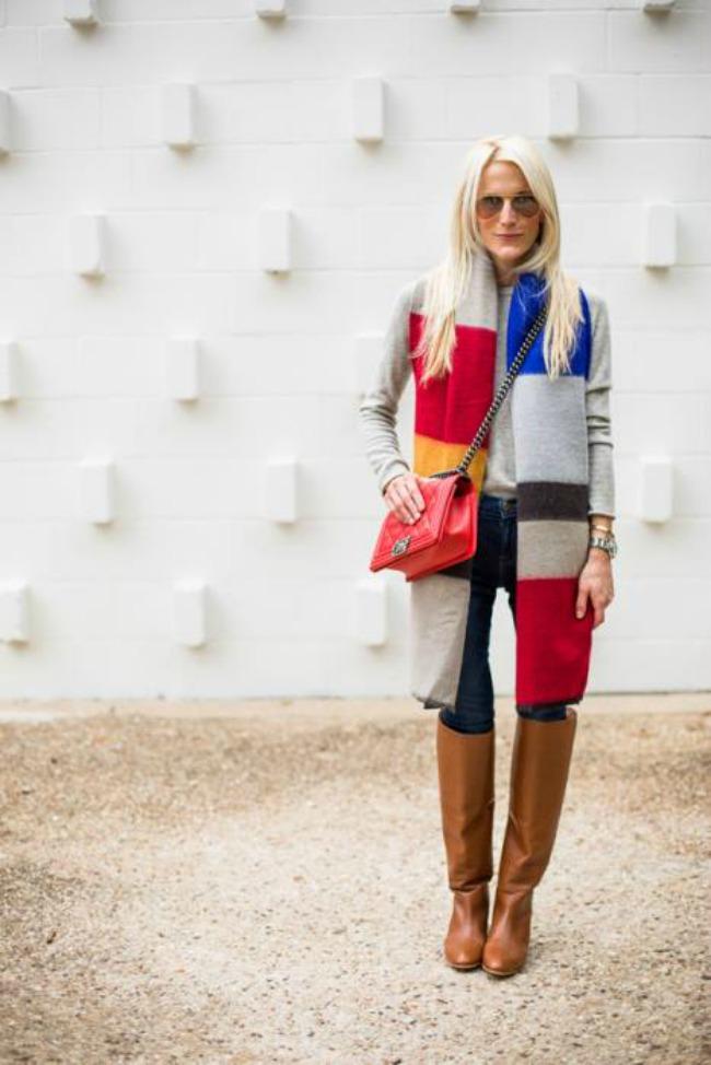 kako da obojite vasu jesenju odevnu kombinaciju visebojni kaput Kako da obojite vašu jesenju odevnu kombinaciju