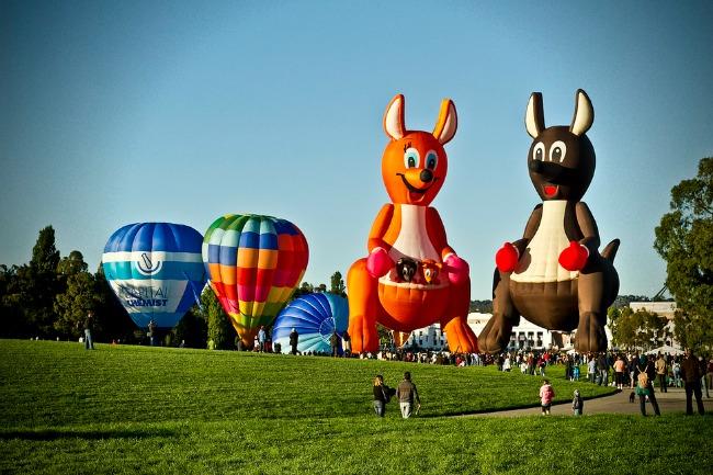 kambera Najlepši svetski festivali vazdušnih balona