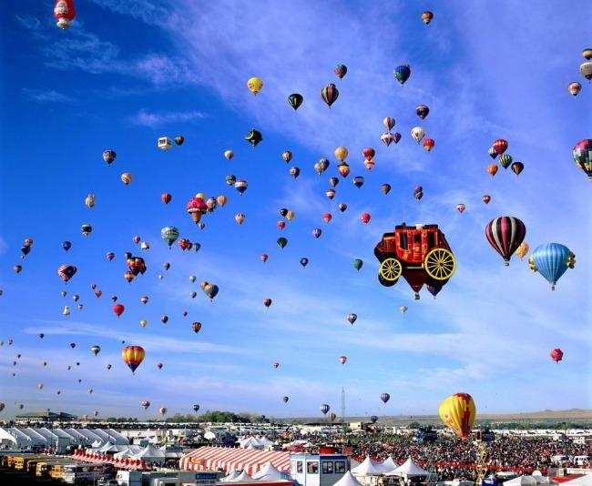 kvebek Najlepši svetski festivali vazdušnih balona