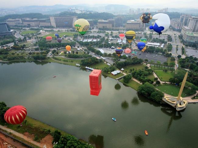malezija 2 Najlepši svetski festivali vazdušnih balona