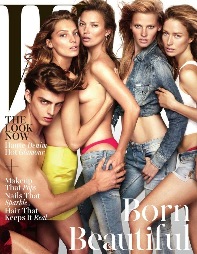 modne vesti alesandra ambrosio kejt mos i karl lagerfeld magazin w Modne vesti: Alesandra Ambrosio, Kejt Mos i Karl Lagerfeld
