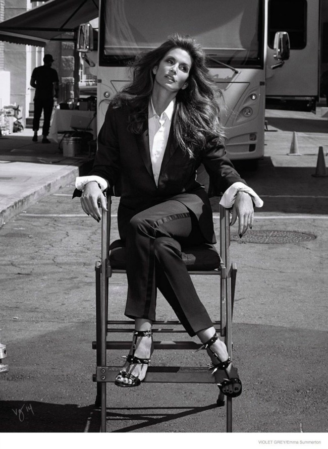 modne vesti gvinet paltrou hm i sindi kraford violet gray editorijal filmski studio Modne vesti: Gvinet Paltrou, H&M i Sindi Kraford