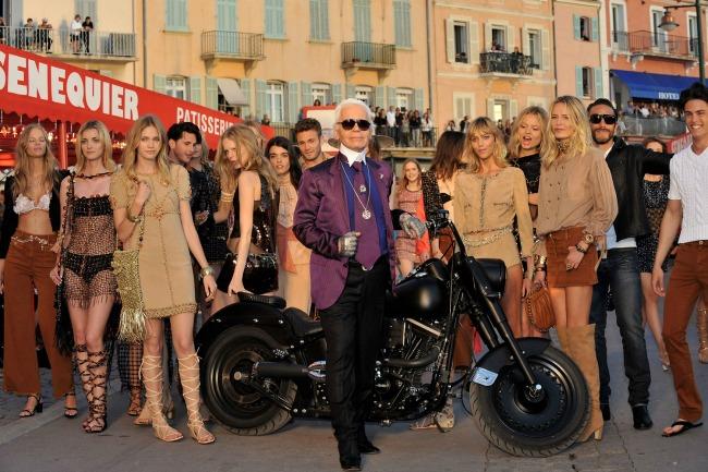 najspektakularnije revije modne kuce chanel sen trope Najspektakularnije revije modne kuće Chanel