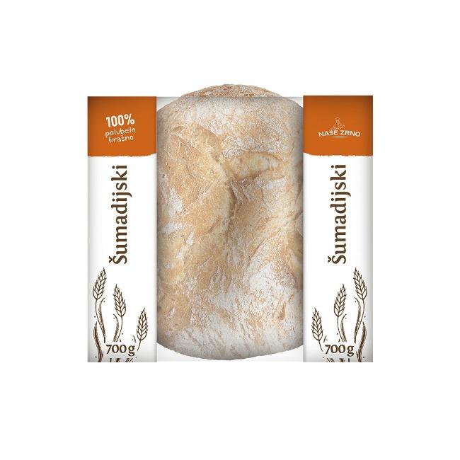 novo na trzištu integralni i sumadijski hleb od kiselog testa sumadijski hleb Novo na tržištu   Integralni i Šumadijski hleb od kiselog testa