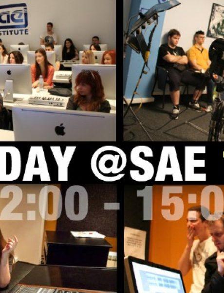 Budite student SAE Instituta na jedan dan