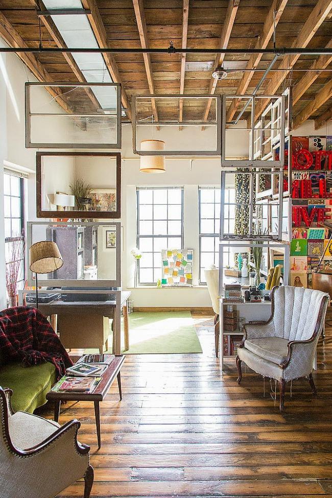 podeljen prostor Originalne ideje za dekoraciju prostora