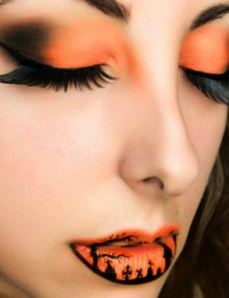 Usne u stilu Noći veštica