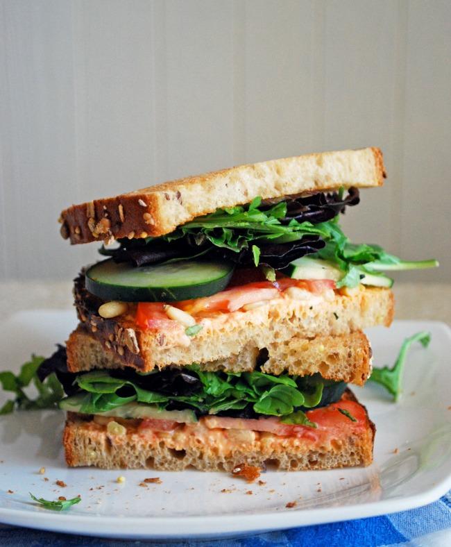 sendvič vegetarijanski Kompromis između brze hrane i zdravlja