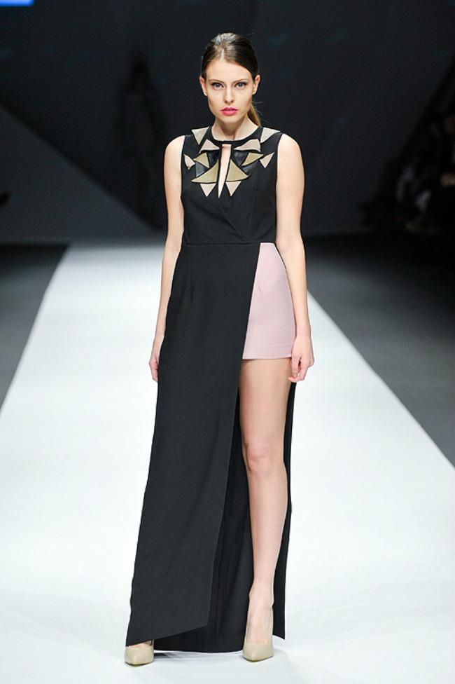 tijana zunic predstavila nove kreacije na beogradskoj nedelji mode haljina Tijana Žunić predstavila nove kreacije na beogradskoj Nedelji mode