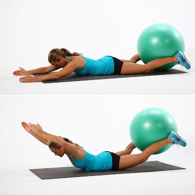 trbušnjaci1 Jednostavne vežbe sa loptom za pilates
