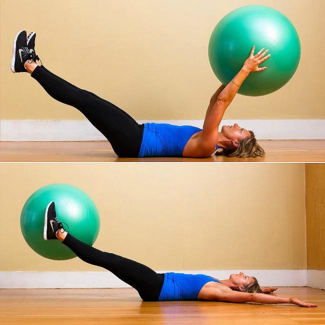 trbušnjaci22 Jednostavne vežbe sa loptom za pilates
