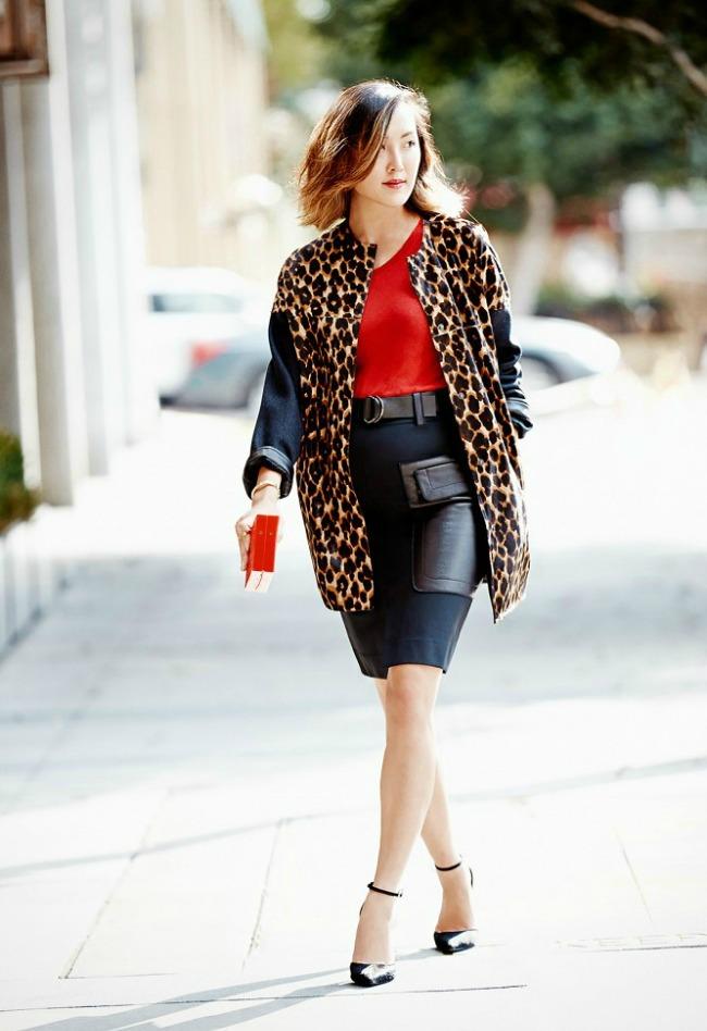 trend alarm nosite crveno ove jeseni crvena bluza1 Trend alarm: Nosite crveno ove jeseni