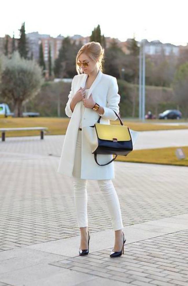 trendseterke nose beli kaput ove jeseni street style 8 Trendseterke nose beli kaput ove jeseni