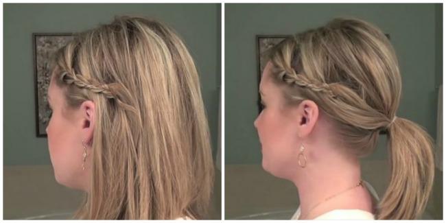 ukosnice 21 Ukosnicama do trendi frizura za nekoliko minuta