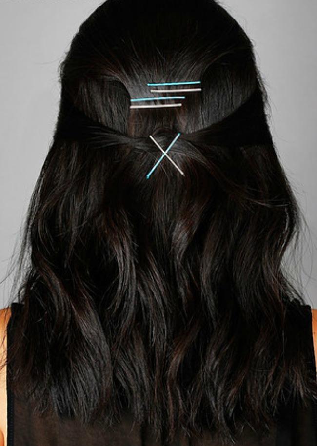 ukosnice 4 Ukosnicama do trendi frizura za nekoliko minuta