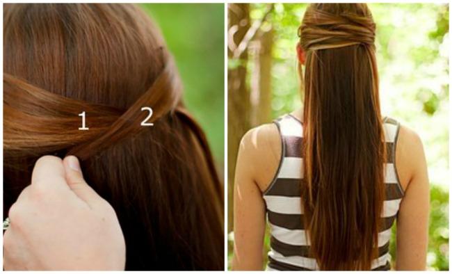 ukosnice 51 Ukosnicama do trendi frizura za nekoliko minuta