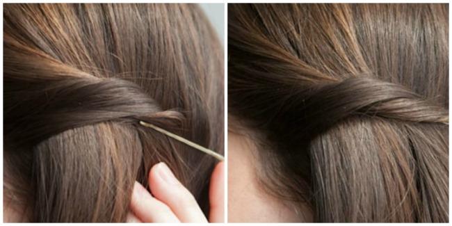 ukosnice 62 Ukosnicama do trendi frizura za nekoliko minuta