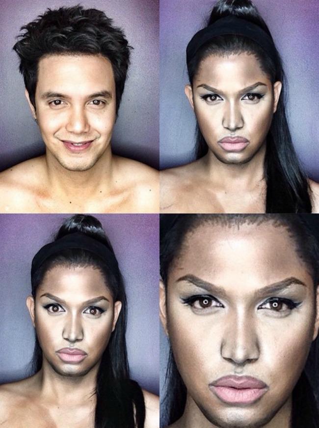 Šta sve može šminka Muškarac kao ženske zvede Niki Minaž Šta sve može šminka: Muškarac kao ženske zvezde