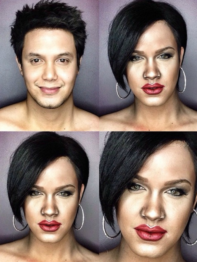 Šta sve može šminka Muškarac kao ženske zvede Rijana Šta sve može šminka: Muškarac kao ženske zvezde