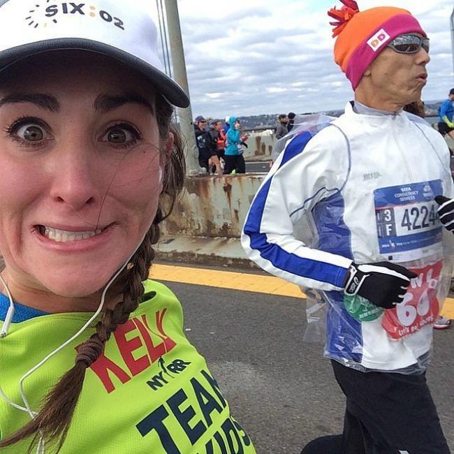 BEASTMODE Selfiji sa maratona