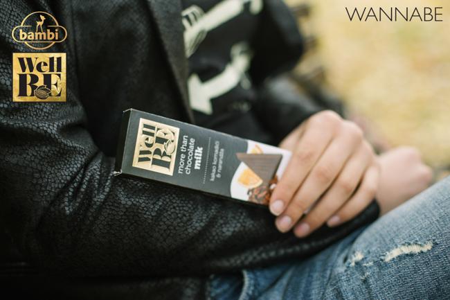 Bambi modni predlog Wannabe 10 WellBE: Nove Bambi čokolade za topliju jesen