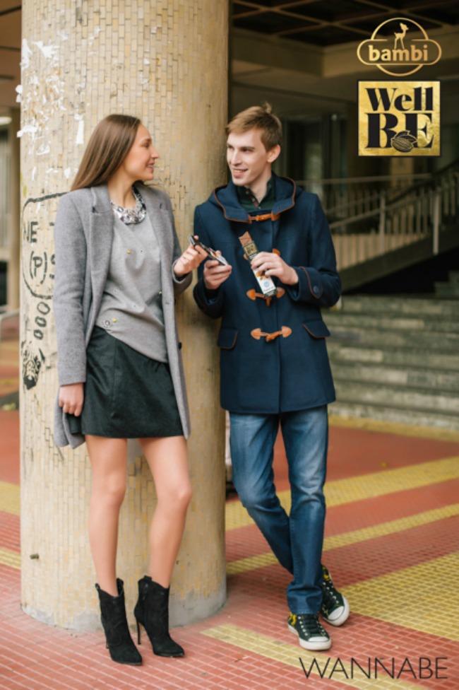 Bambi modni predlog Wannabe 141 WellBE: Nove Bambi čokolade za topliju jesen