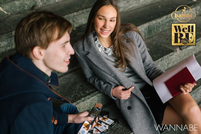 Bambi modni predlog Wannabe 17 WellBE: Nove Bambi čokolade za topliju jesen