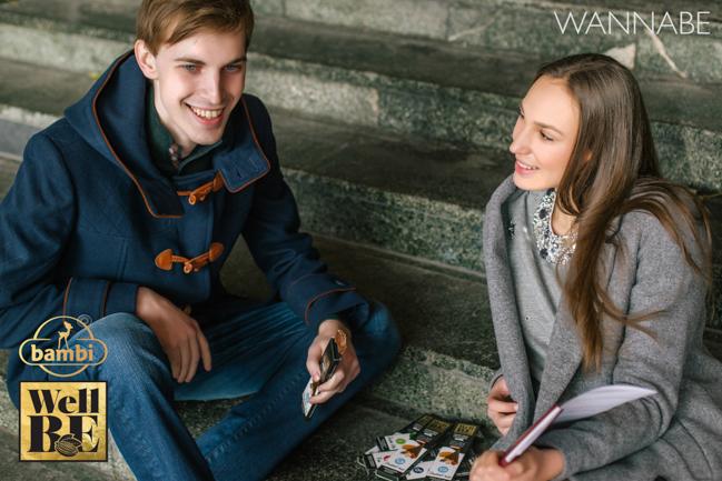 Bambi modni predlog Wannabe 18 WellBE: Nove Bambi čokolade za topliju jesen