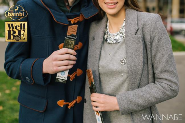 Bambi modni predlog Wannabe 20 WellBE: Nove Bambi čokolade za topliju jesen