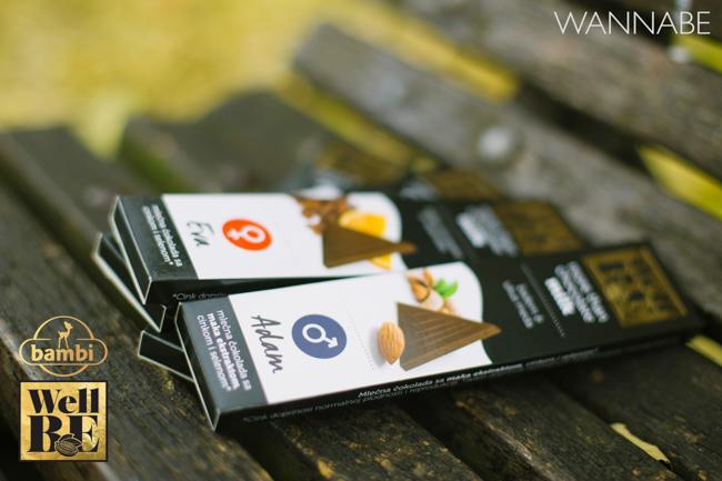 Bambi modni predlog Wannabe 22 WellBE: Nove Bambi čokolade za topliju jesen