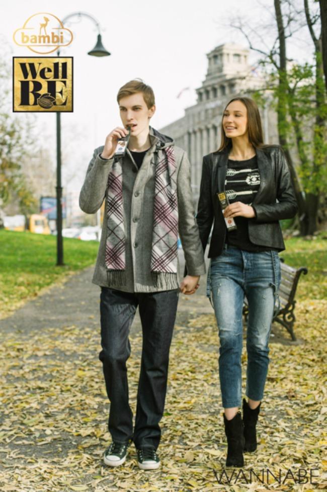 Bambi modni predlog Wannabe 31 WellBE: Nove Bambi čokolade za topliju jesen