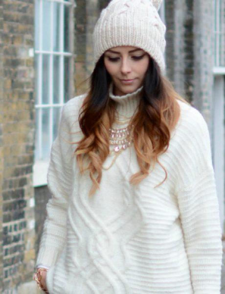 Šta obući ove nedelje: Beli džemper