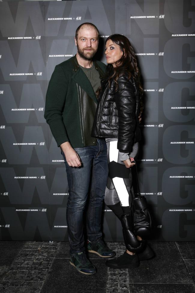 Darko Kostic i Tamara Paunovic Kolekcija Alexander Wang x H&M stigla u Srbiju