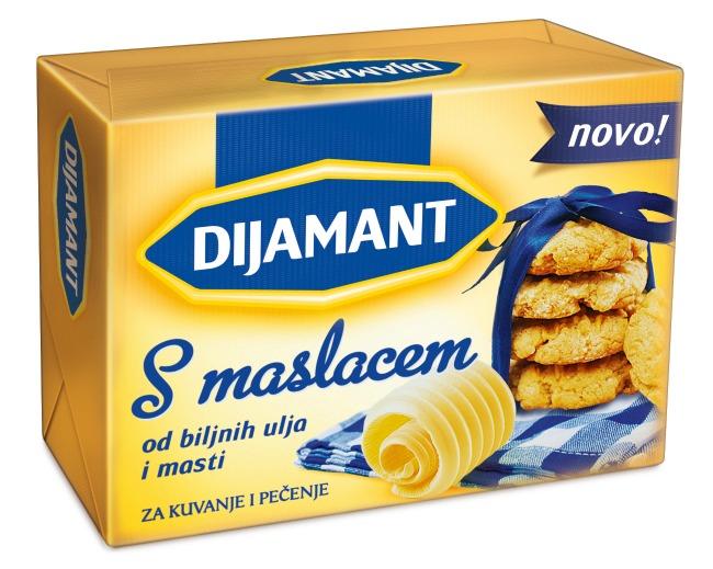 Dijamant s Maslacem 250g Novi ukus: Dijamant s maslacem