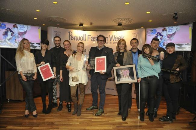 Dobitnici zajednicka fotografija 1 36. Perwoll Fashion Week – Dodela nagrada i promocija Belgrade Shopping Guide a