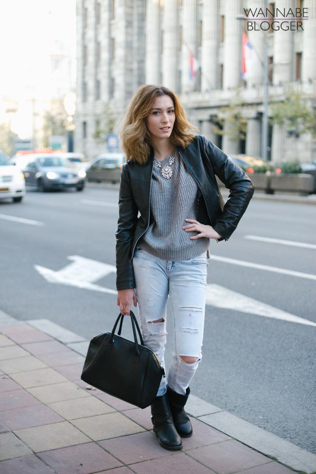 Dragana Marovic Wannabe blogger 091 Street Style: Wannabe Blogger Show (prvi deo)
