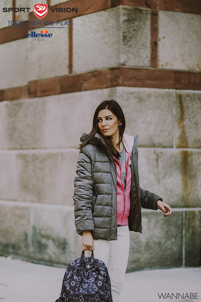 Ellesse modni predlog 3 Ellesse modni predlog: Roze i sivo za topliji dan