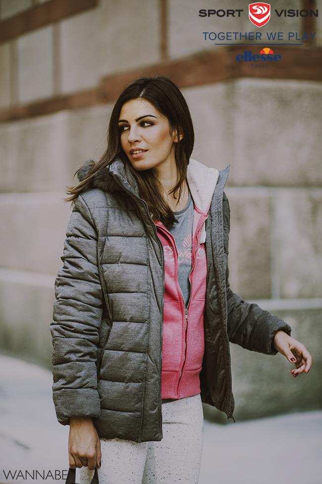 Ellesse modni predlog 4 Ellesse modni predlog: Roze i sivo za topliji dan