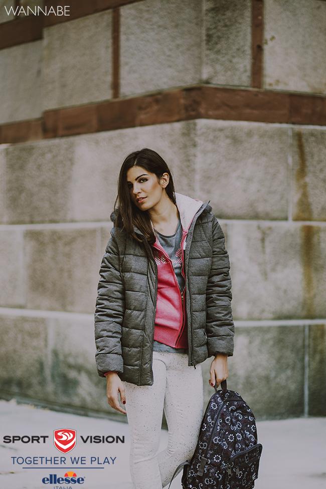 Ellesse modni predlog 5 Ellesse modni predlog: Roze i sivo za topliji dan