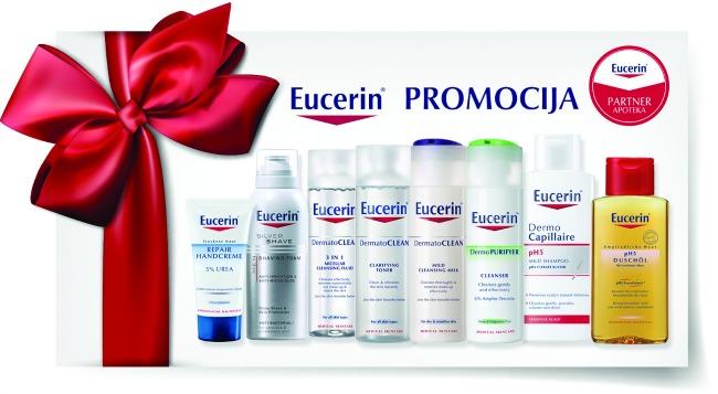 Eucerin promocija Atraktivna ponuda samo u Eucerin Partner apotekama